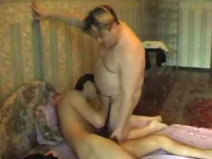 Young sexy stud gets a nasty hardcore fuck from a fat horny old guy